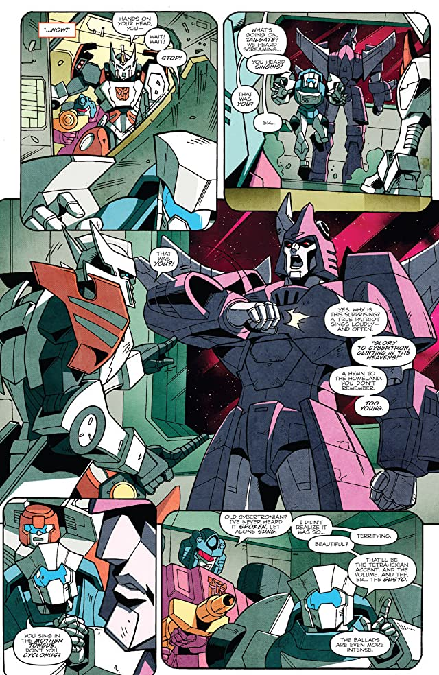Transformers: More Than Meets the Eye (2011-) #13