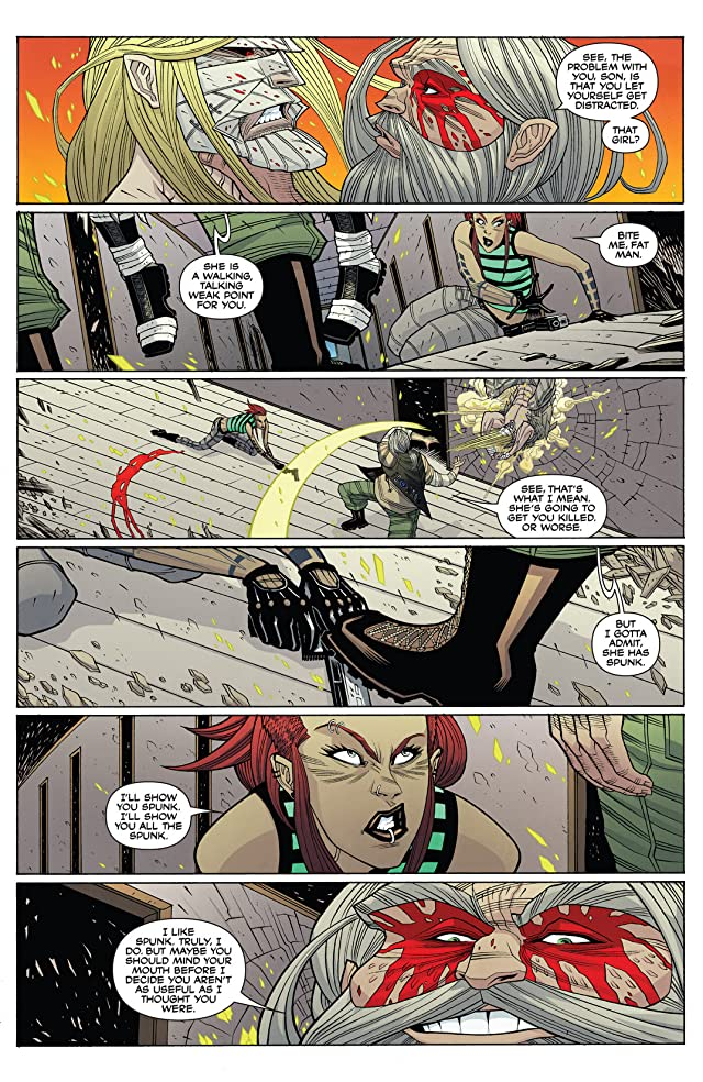 click for super-sized previews of The Legend of Luther Strode #3