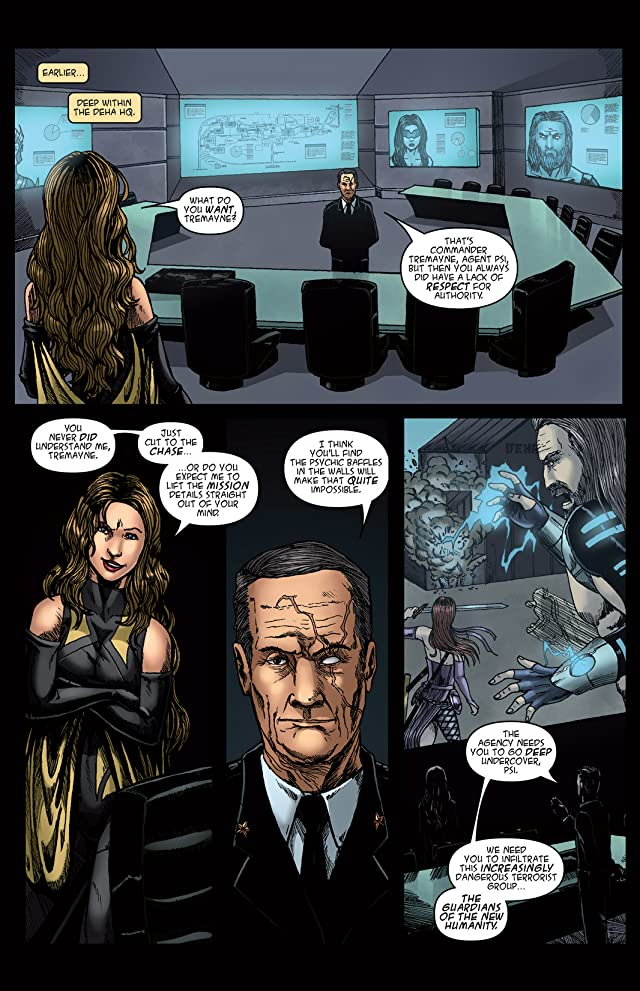 Alphagods #4: Betrayal