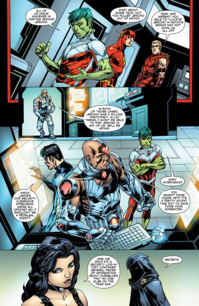 click for super-sized previews of Titans (2008-2011) #8