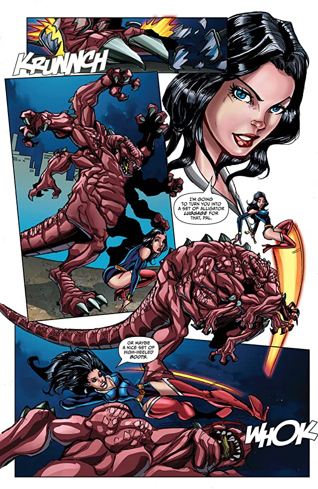 click for super-sized previews of Grimm Fairy Tales: Valentine's Day Special 2013