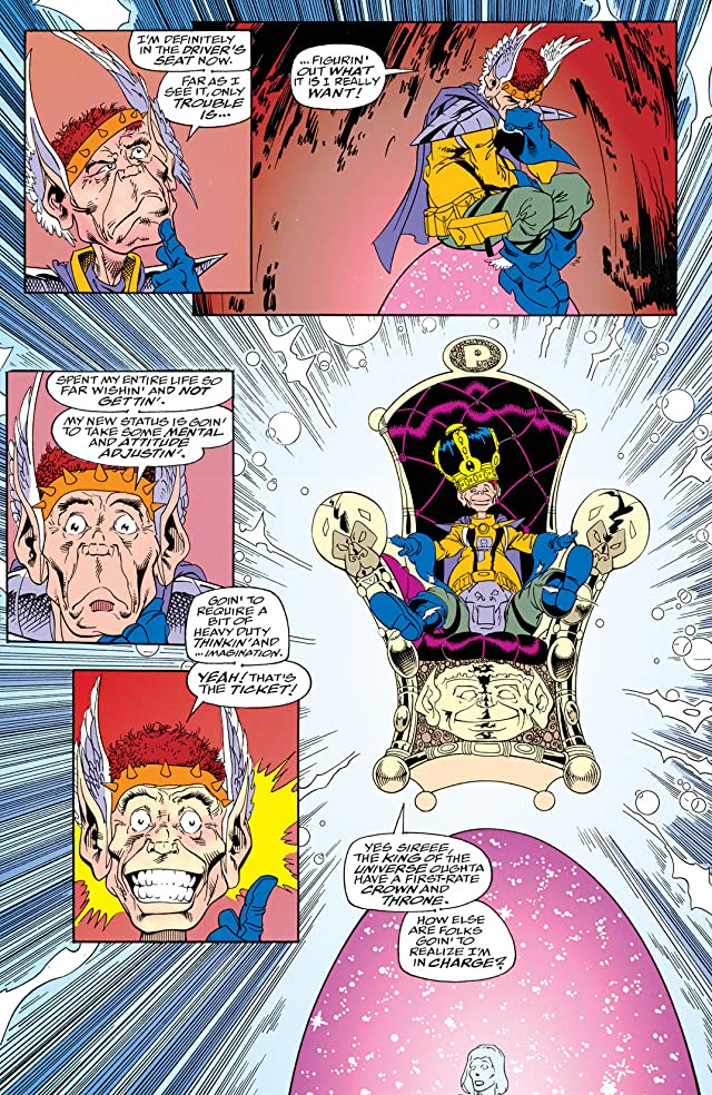 click for super-sized previews of Warlock and the Infinity Watch (1992-1995) #20