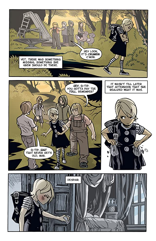 click for super-sized previews of Courtney Crumrin: Ongoing #10