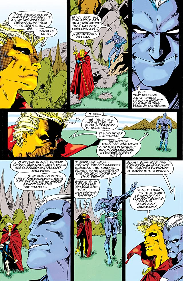 click for super-sized previews of Warlock Chronicles #4