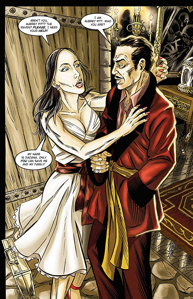 click for super-sized previews of Vincent Price: Tales From the Darkness #1