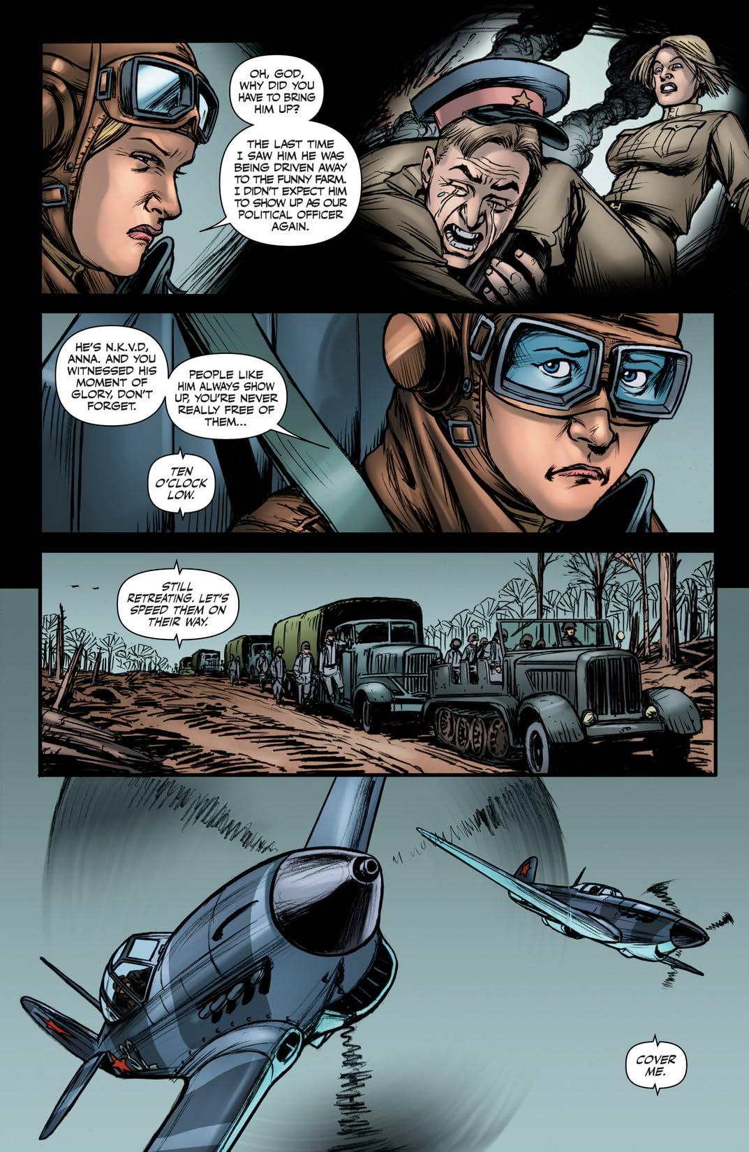 Garth Ennis' Battlefields #4 (of 6): The Fall and Rise of Anna Kharkova - Part 1