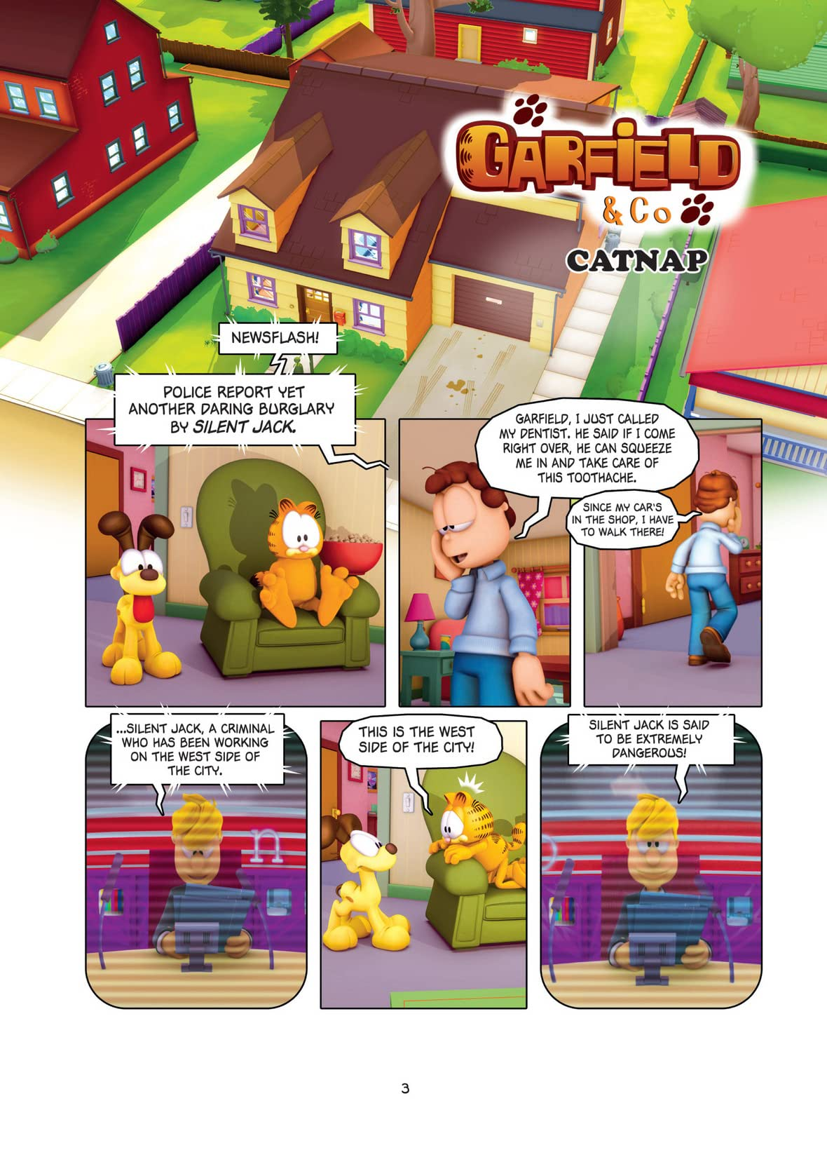 Garfield and Company Vol. 5: A Game of Cat and Mouse
