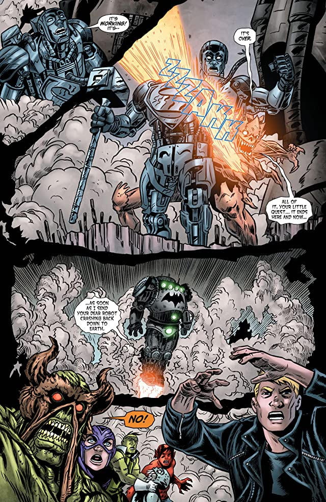 click for super-sized previews of Swamp Thing (2011-2015) #17