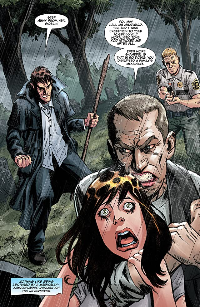 click for super-sized previews of Jim Butcher's The Dresden Files: Ghoul Goblin #2