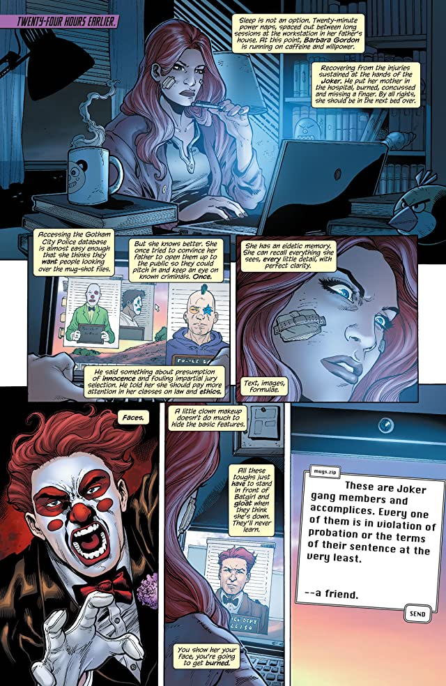 click for super-sized previews of Batgirl (2011-) #17