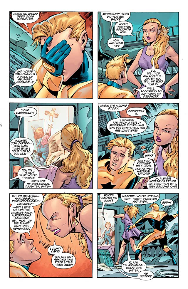 click for super-sized previews of Booster Gold (2007-2011) #34