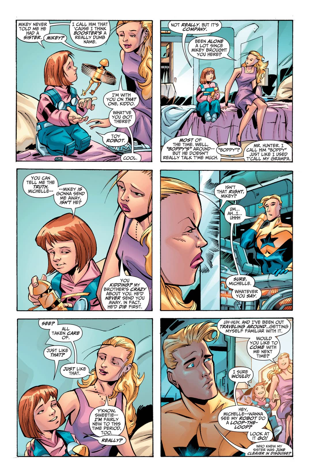 Booster Gold (2007-2011) #34
