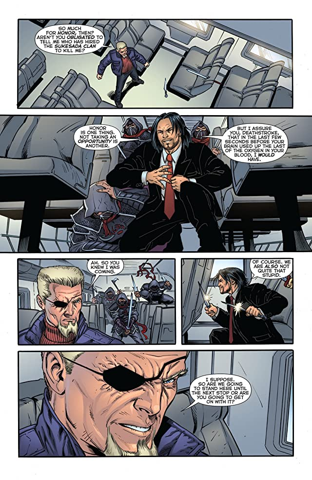 click for super-sized previews of Deathstroke (2011-2013) #17