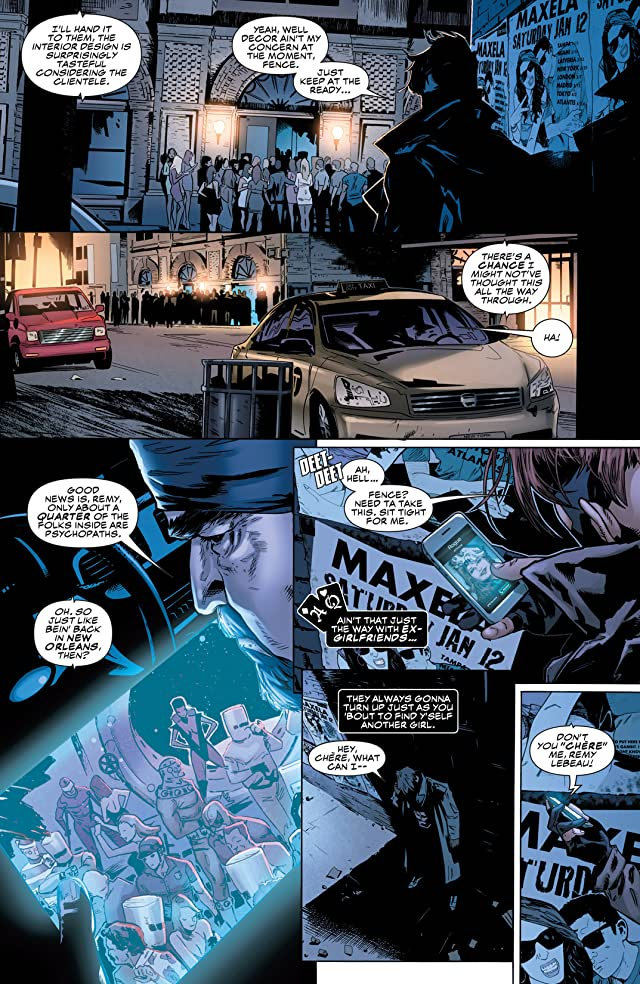 click for super-sized previews of Gambit (2012-2013) #9