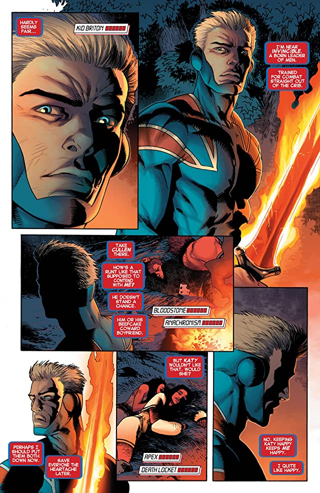 click for super-sized previews of Avengers Arena #5
