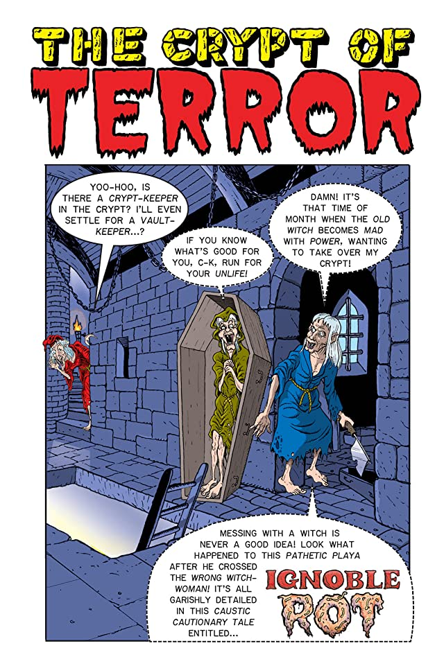 click for super-sized previews of Tales From the Crypt Vol. 5: Yabba Dabba Voodoo Preview