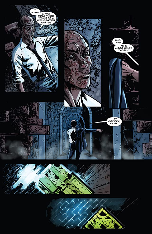 click for super-sized previews of Hellraiser: The Dark Watch #1