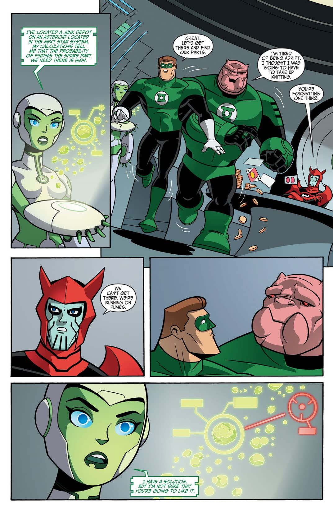 Green Lantern: The Animated Series #11