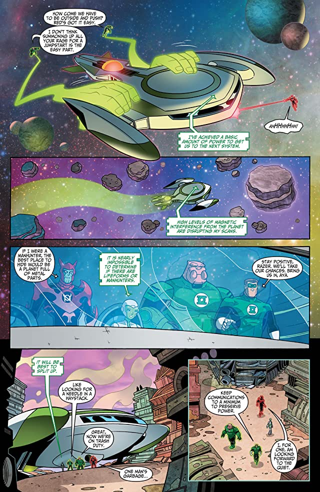 click for super-sized previews of Green Lantern: The Animated Series #11