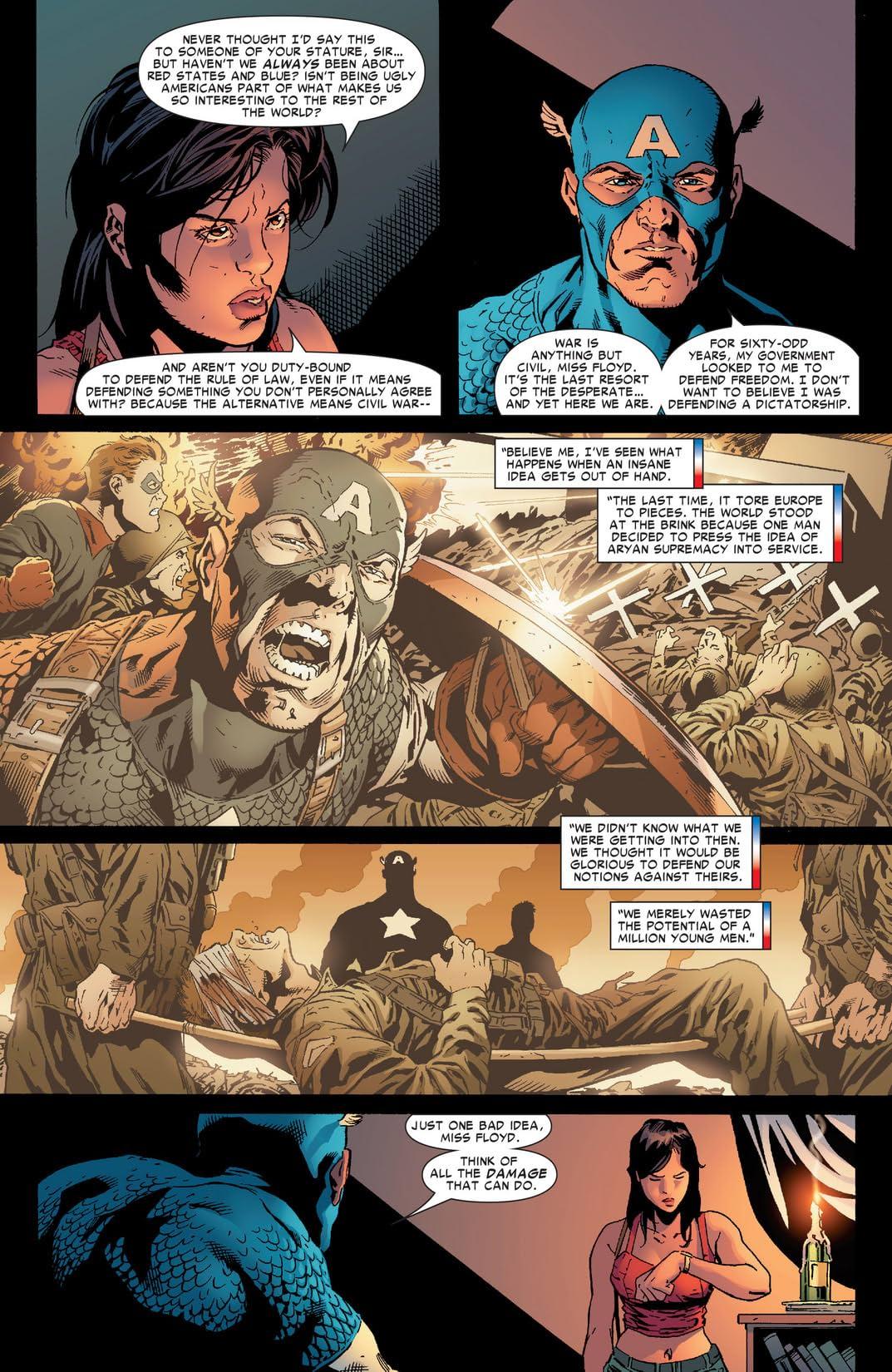 Civil War: Front Line #9 (of 11)