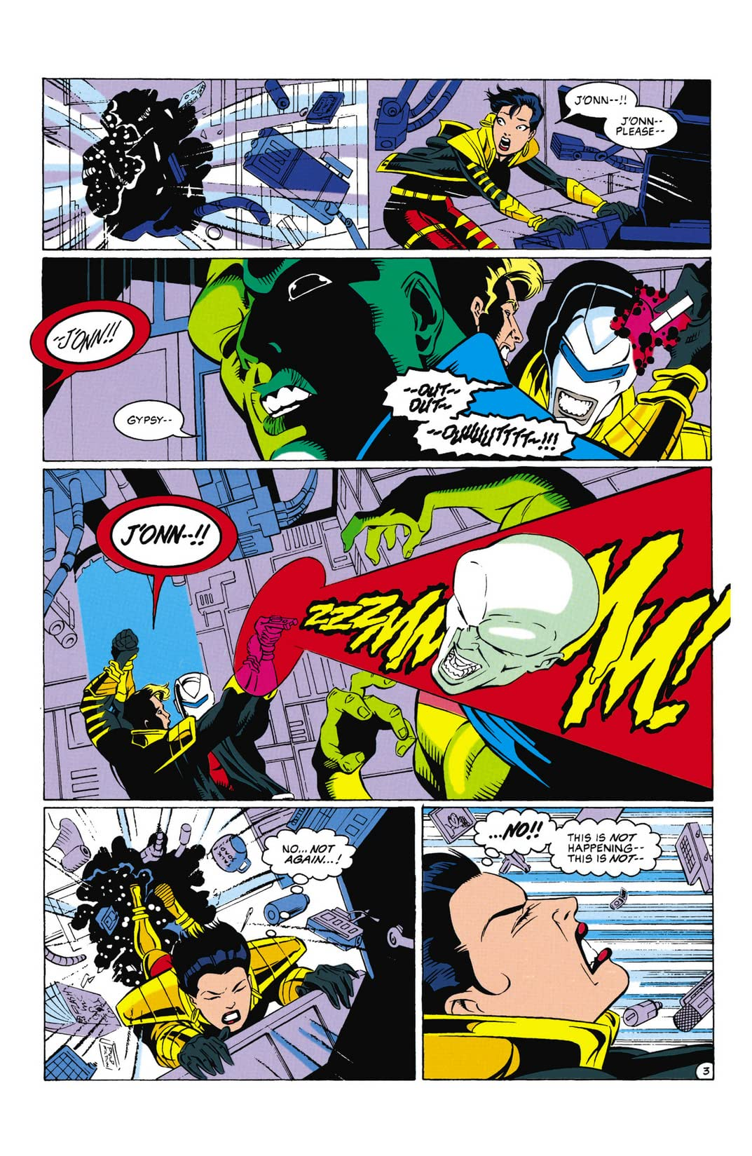 Justice League Task Force (1993-1996) #32