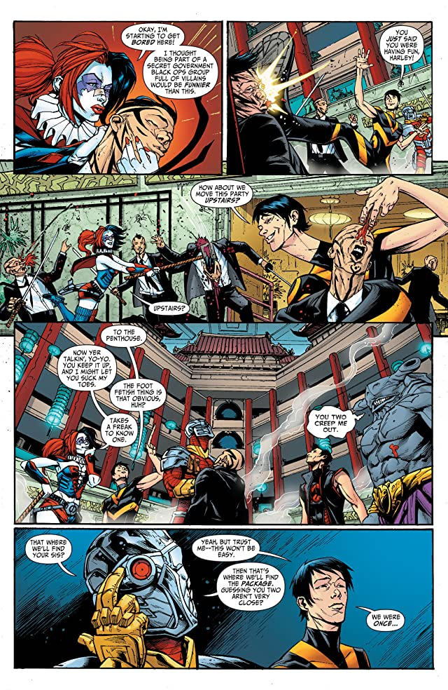 click for super-sized previews of Suicide Squad (2011-2014) #17