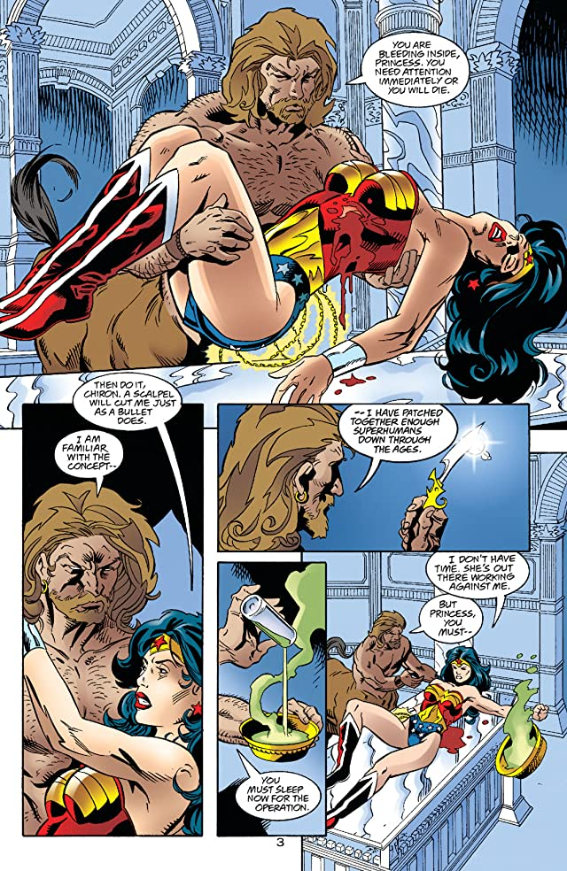 click for super-sized previews of Wonder Woman (1987-2006) #144