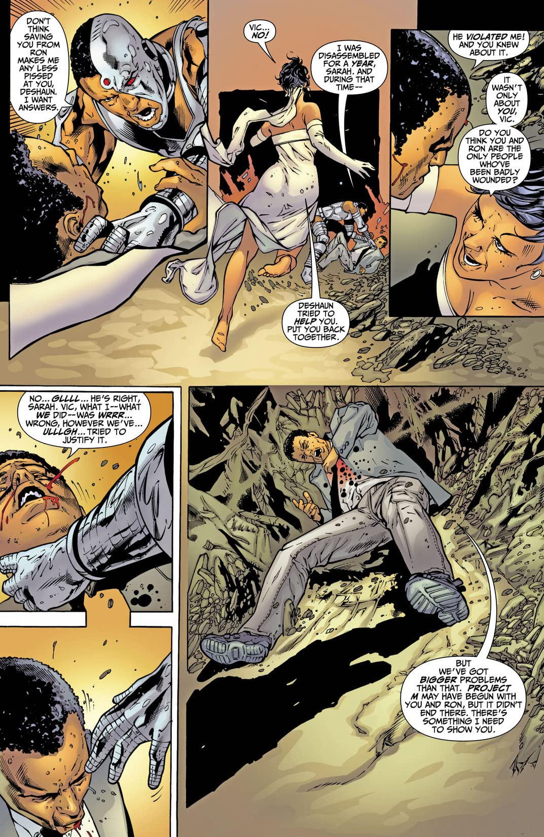 DC Special: Cyborg (2008) #4 (of 5)