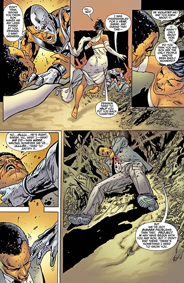 click for super-sized previews of DC Special: Cyborg (2008) #4