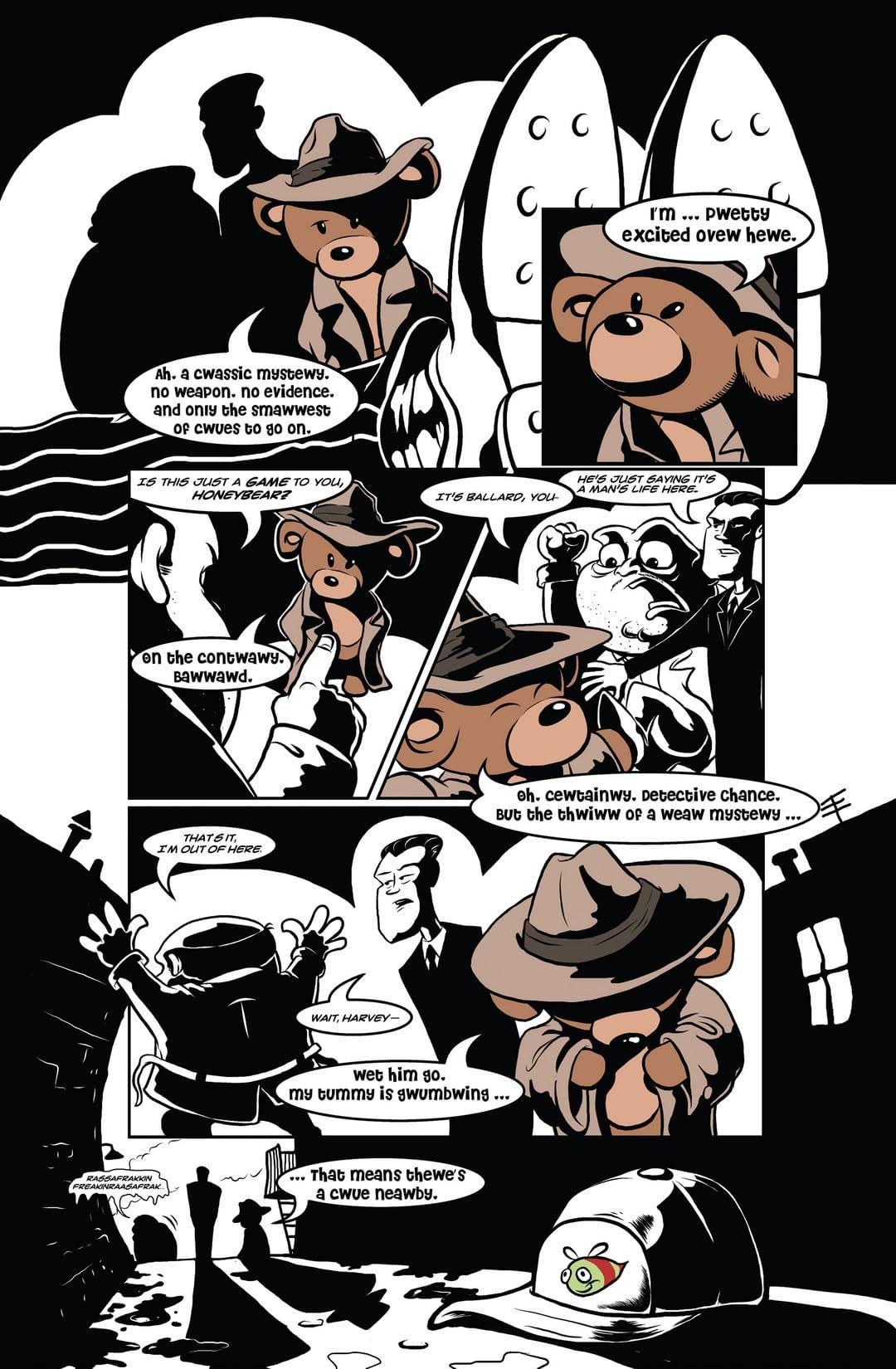 Detective Honeybear #1