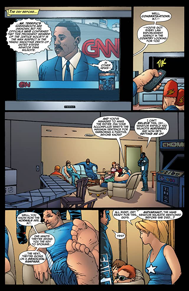 click for super-sized previews of JSA: Classified #30