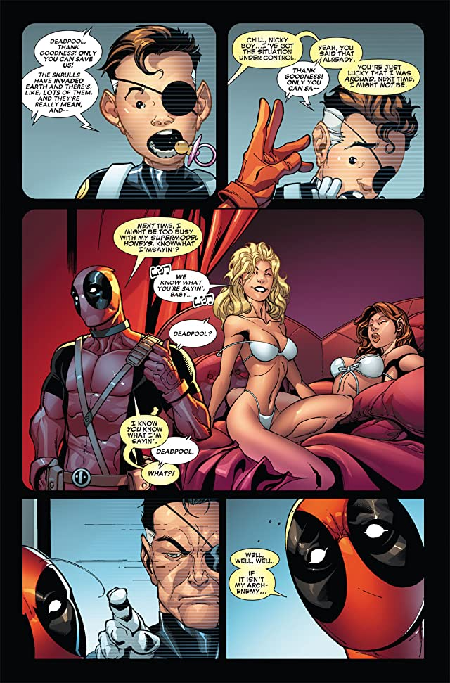 click for super-sized previews of Deadpool (2008-2012) #3
