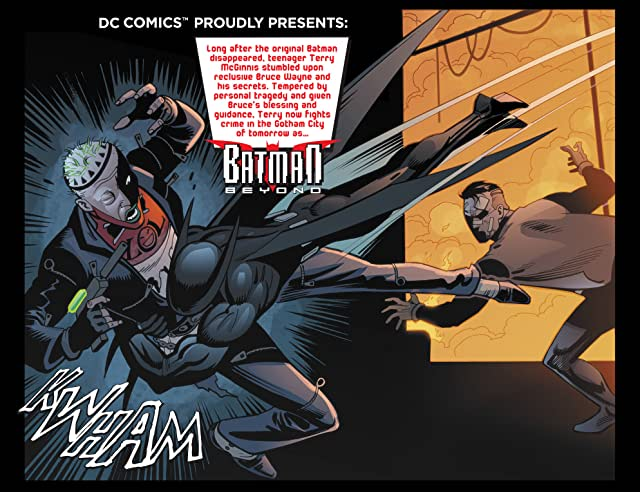 Batman Beyond (2012-2013) #18