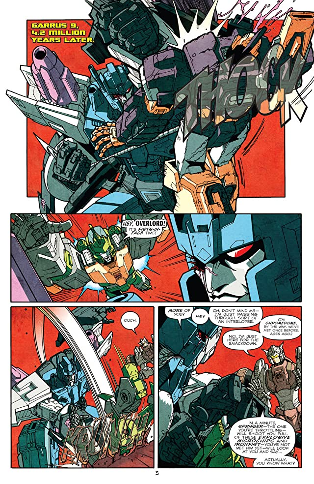 click for super-sized previews of Transformers: More Than Meets the Eye (2011-) #14