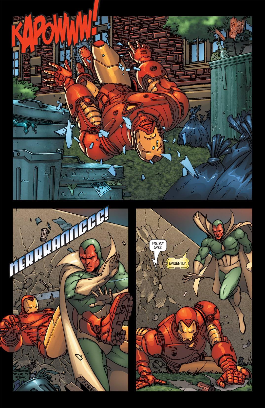 Iron Man (1998-2004) #85