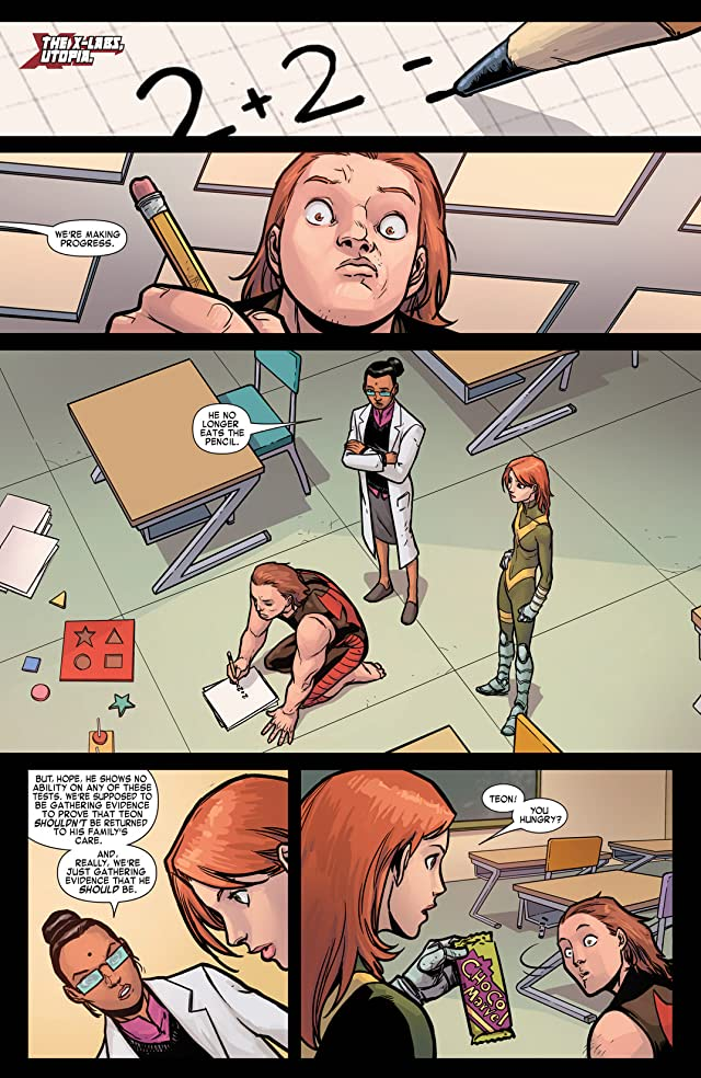 click for super-sized previews of Generation Hope #8