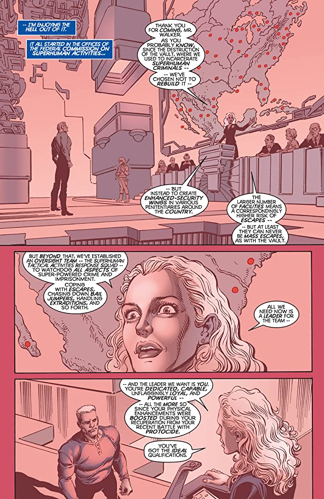 click for super-sized previews of Maximum Security #1