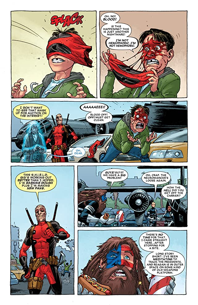 click for super-sized previews of Deadpool (2012-) #5