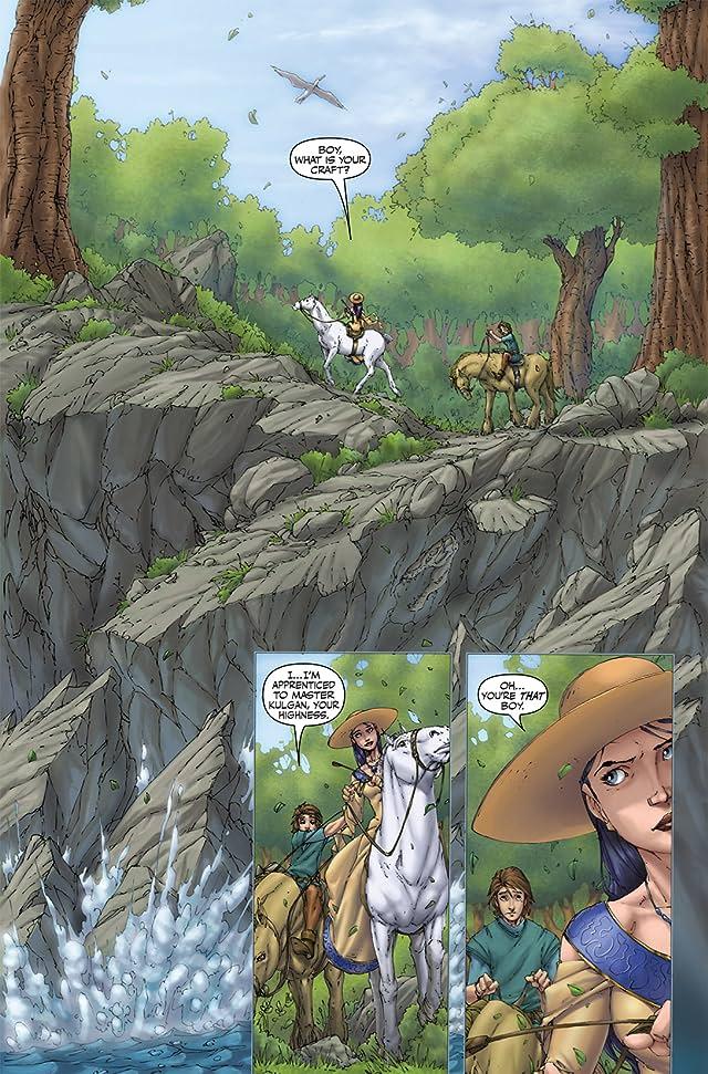 click for super-sized previews of Magician: Apprentice Riftwar Saga #3