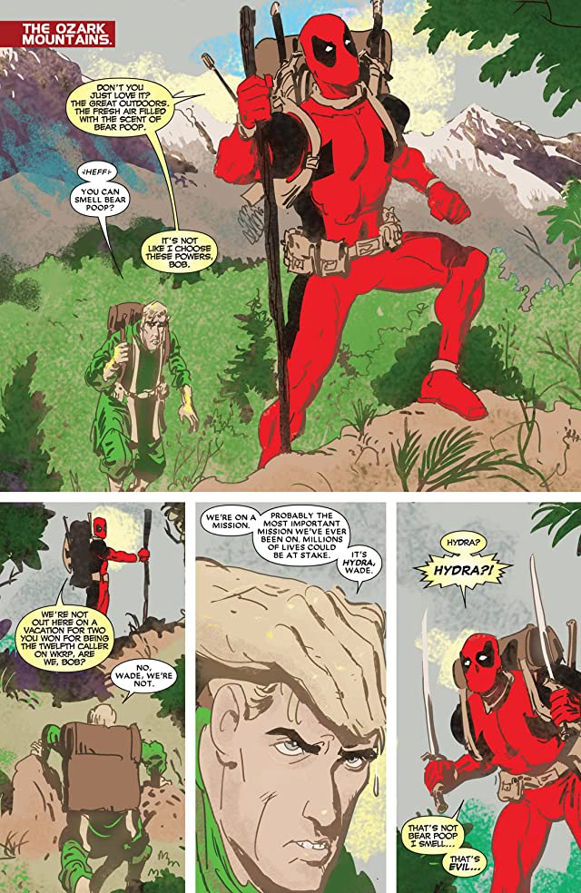 click for super-sized previews of Deadpool Max #12
