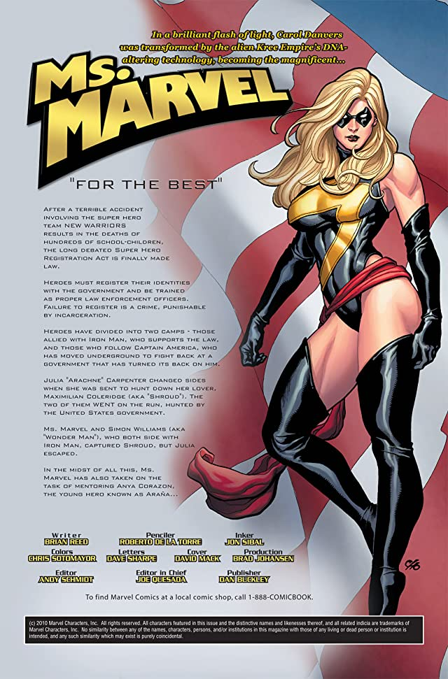 click for super-sized previews of Ms. Marvel (2006-2010) #8