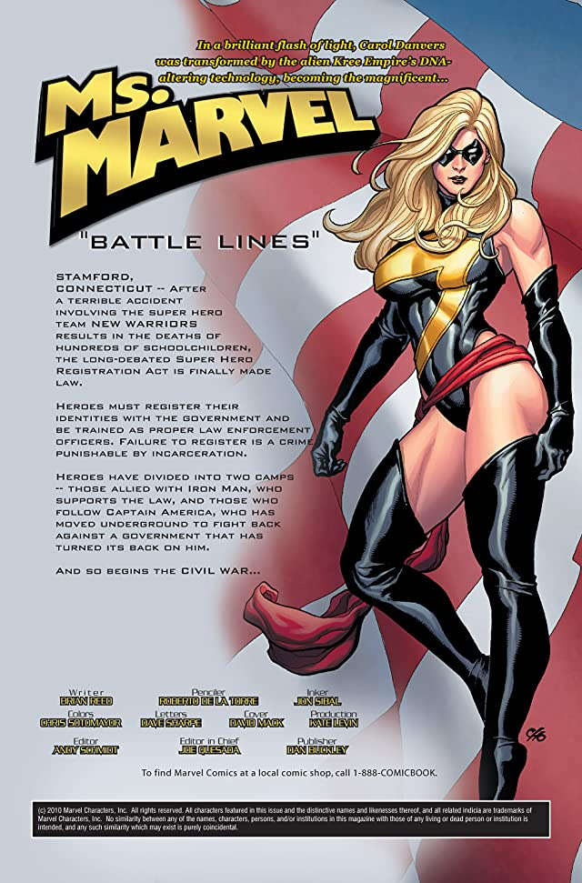click for super-sized previews of Ms. Marvel (2006-2010) #6