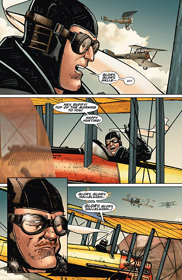 click for super-sized previews of War Is Hell: The First Flight of the Phantom Eagle #1