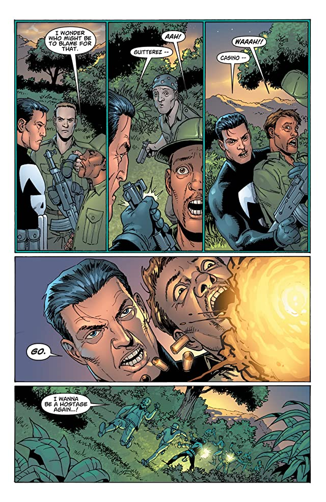 click for super-sized previews of The Punisher (2001-2003) #14