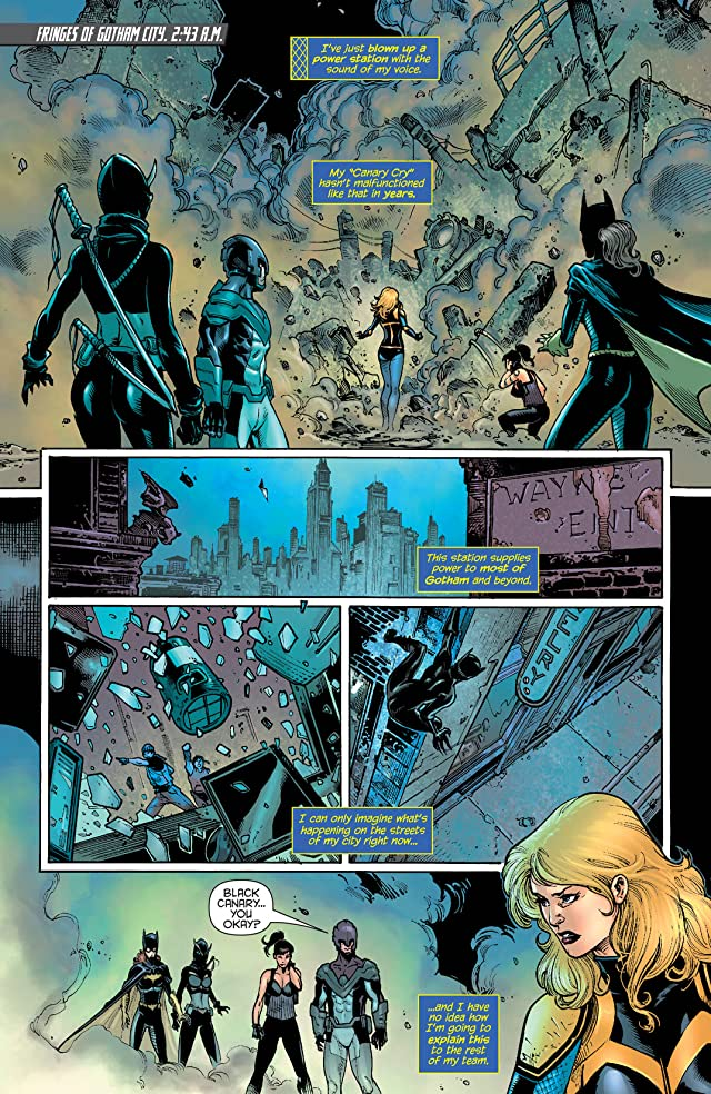 click for super-sized previews of Birds of Prey (2011-2014) #17