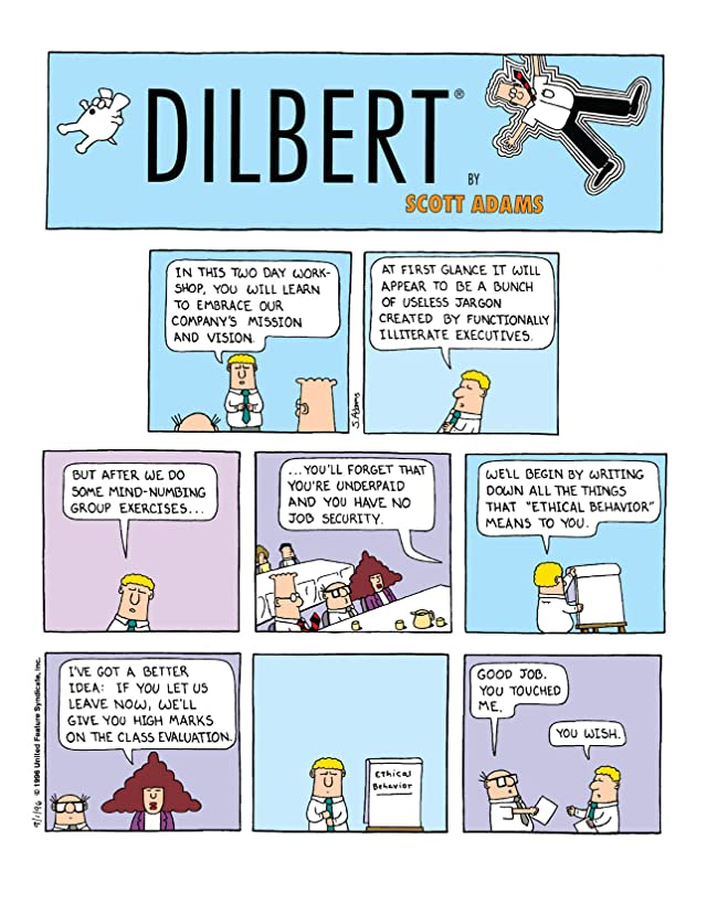 click for super-sized previews of Dilbert Vol. 12: Journey to Cubeville