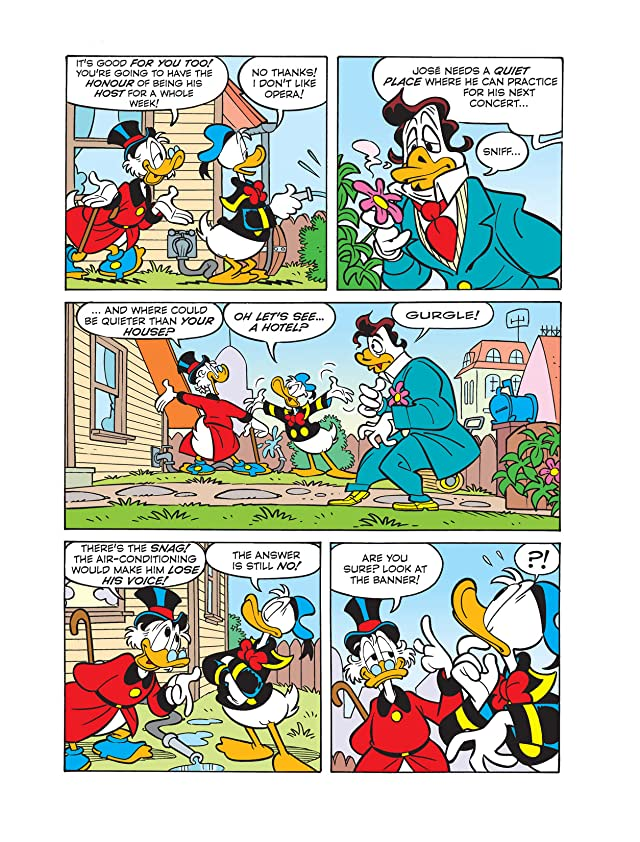 click for super-sized previews of Donald Duck and the Unexpected Guest