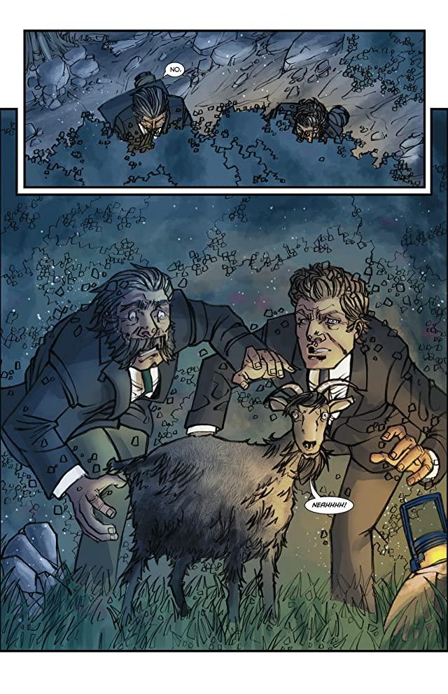 click for super-sized previews of Sherlock Holmes: Victorian Knights #4