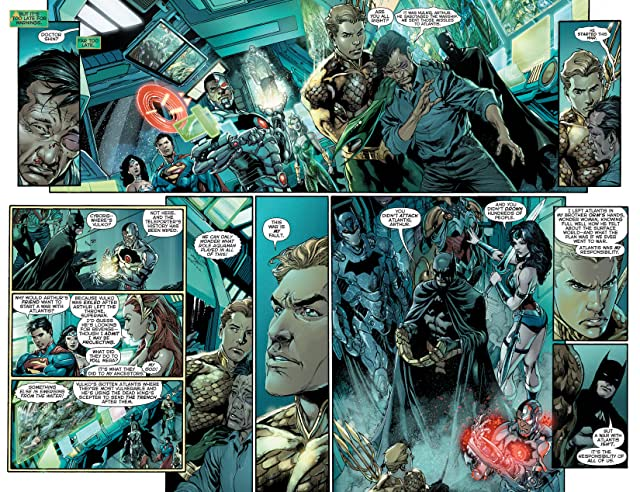 click for super-sized previews of Justice League (2011-) #17