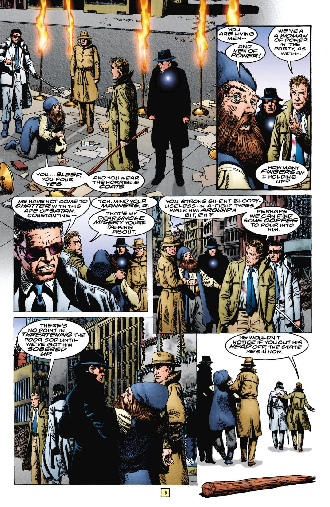 The Trenchcoat Brigade #2 (of 4)